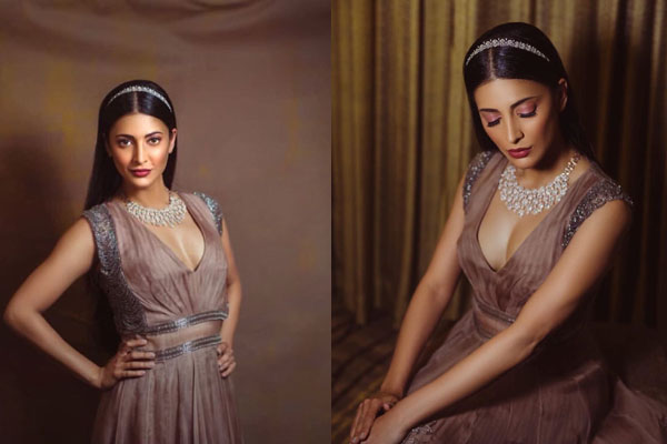 Pic Talk: Ultra Stylish and Dazzling Shruti Haasan