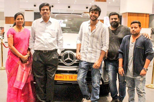 Sundeep Kishan gifts a luxurious Mercedes for his Parents