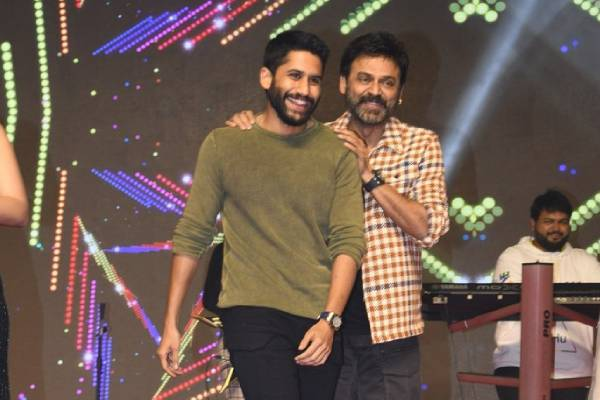 Venky Mama, You're Our Youth: Chay