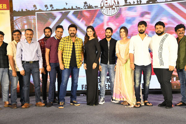 Venky Mama Success Meet