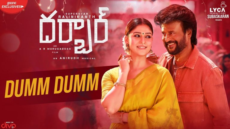Dumm Dumm from Darbar: Party Number