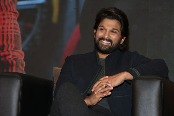 Allu Arjun creating content for Aha