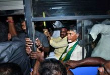 Chandrababu Naidu detained amid high drama in Vijayawada