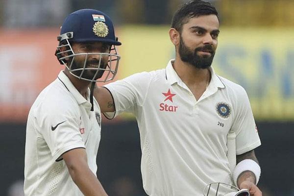 Kohli stays on top, Rahane moves upward in ICC Test rankings