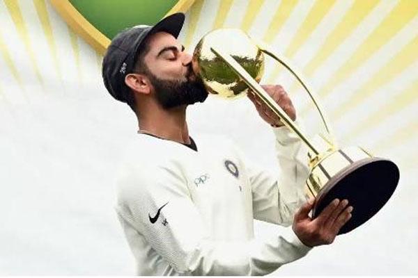Kohli's journey from 'spoilt brat' to winning 'Spirit of Cricket' award