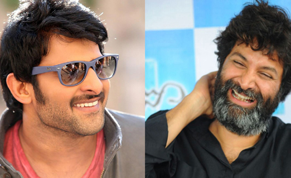 Trivikram and Prabhas combo on Cards?