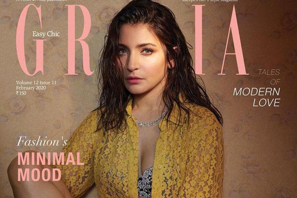 Pic Talk: Anushka Sharma's Sensuous Pose