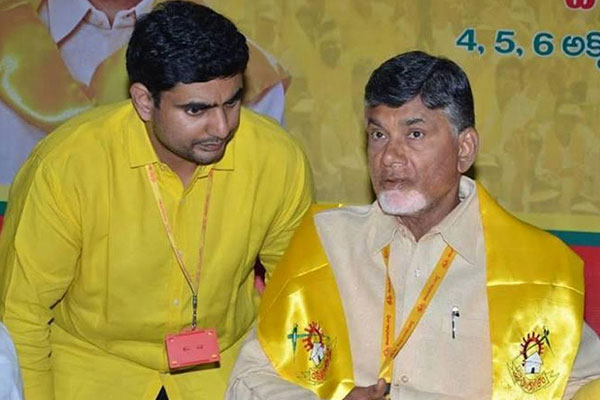Is there a life threat to Naidu and Lokesh?