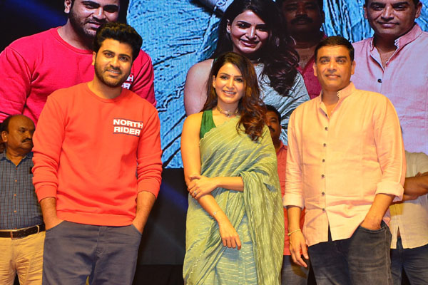 Sharwanand and Samantha's Jaanu Grand Release Event