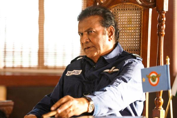 Mohan Babu's look from Aakaasam Nee Haddu Ra