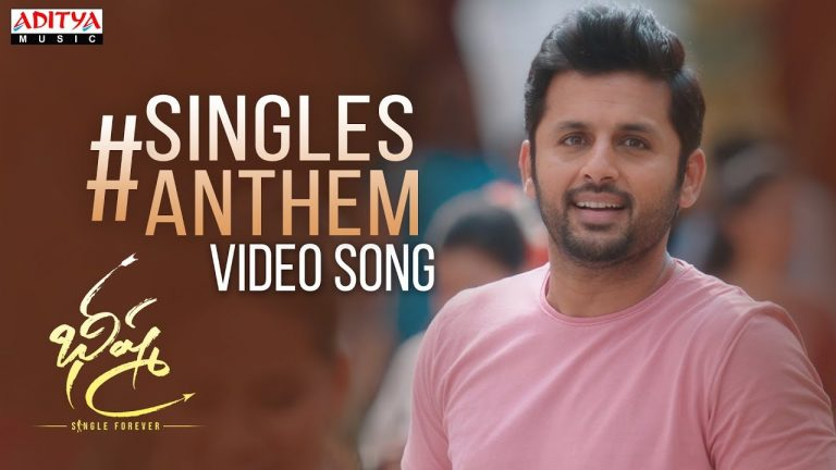 Singles Anthem from Bheeshma: Nithiin's struggles for his Girl
