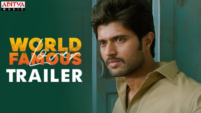 World Famous Lover Trailer : All about Love and its Pain