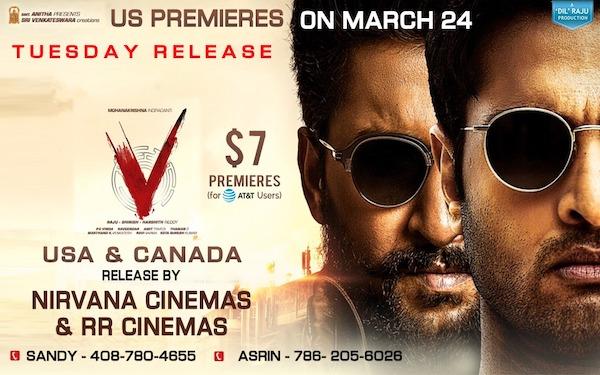 """""""V"""" North America By Nirvana Cinemas & RR Cinemas"""