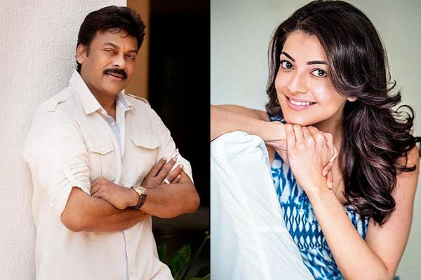 Kajal has a special surprise for Megastar's Acharya