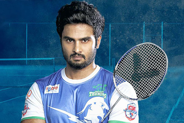 Sudheer Babu trained in badminton for two years