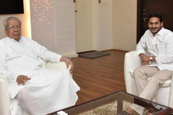 Andhra Guv, CM greet new CJI Justice Ramana