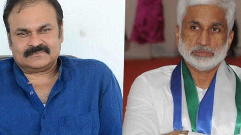 War of tweets:  Vijaysai Reddy is a fox, Nagababu is zero
