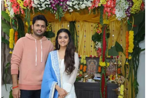 Nithiin and Keerthy Suresh to team up again?