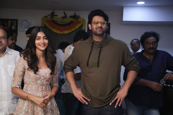 Prabhas20 Launch Ceremony