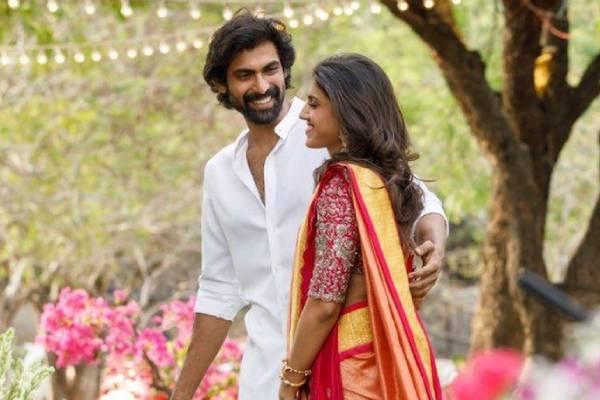 Rana and Miheeka's wedding would be a strictly family affair