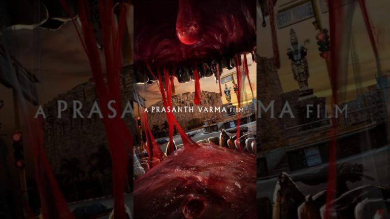 Prashanth Varma 3rd Film Motion Poster: Red Alert