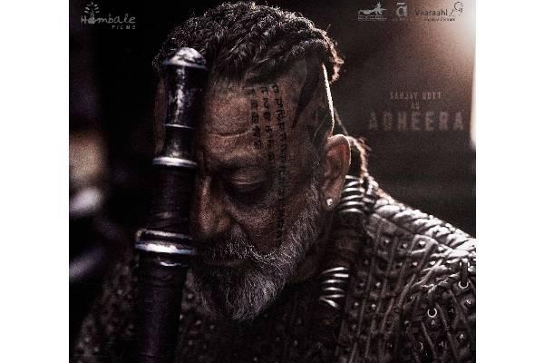 Sanjay Dutt's deadliest look from KGF: Chapter 2 unveiled