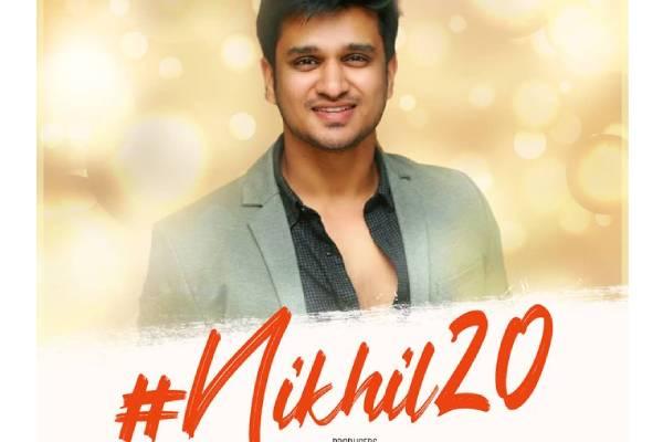 Nikhil's 20th film announced