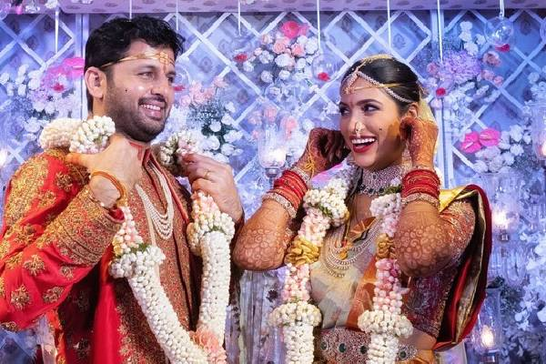 Pics Nithiin weds Shalini
