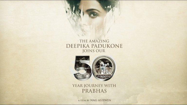 Official: Deepika Padukone to romance Prabhas