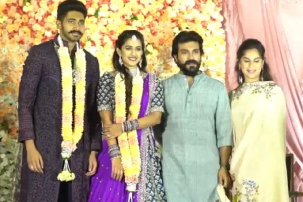 Niharika gets engaged to Chaitanya