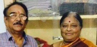 Paruchuri Venkateswara Rao's wife Vijayalakshmi