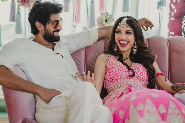 Rana Daggubati – Miheeka Bajaj Pre-Wedding Celebrations