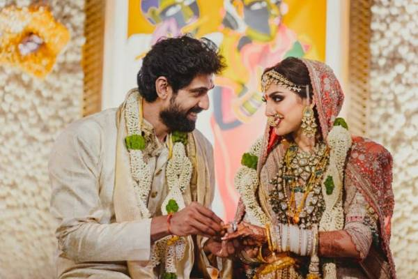 Rana and Miheeka are happily married