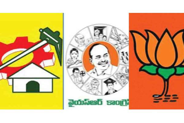 TDP or YSRCP or BJP, which is on ventilator support?