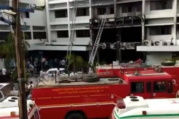 11 die in Covid centre fire at Vijayawada Swarna palace