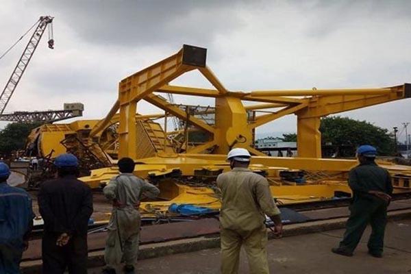Now, crane crash in Vizag Hindustan Shipyard leaves 11 workers dead