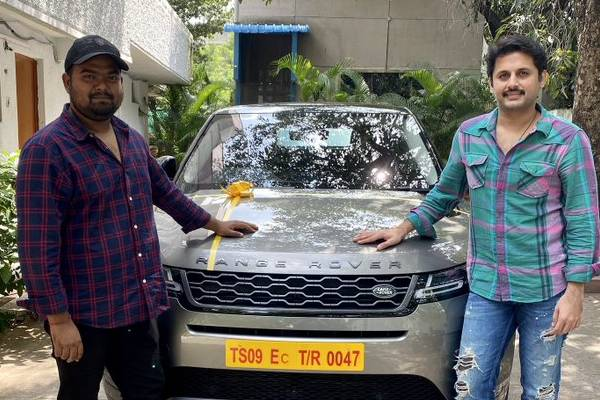 Nithiin surprises his director with a Range Rover