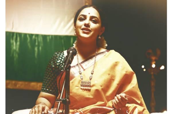 Nithya Menen First Look As Singer In Gamanam