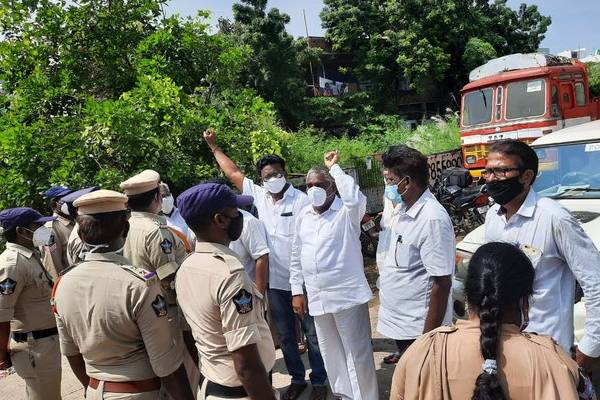 Section 30 and 144 in Amalapuram, BJP leaders detained