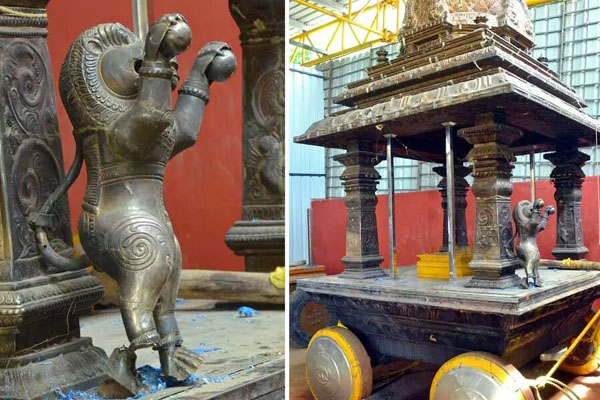 Govt sets up panel; Veeraju visits Kanaka Durga temple