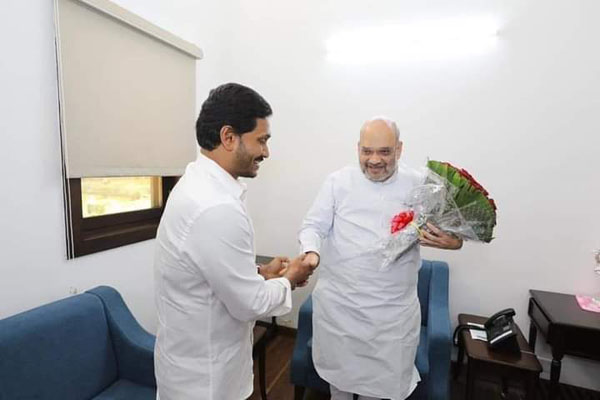 Jagan discussed 3 capitals issue with Amit Shah