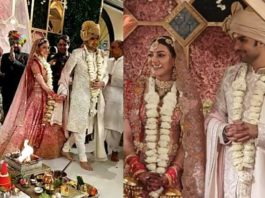 Kajal ties the knot in traditional Punjabi and Kashmiri style