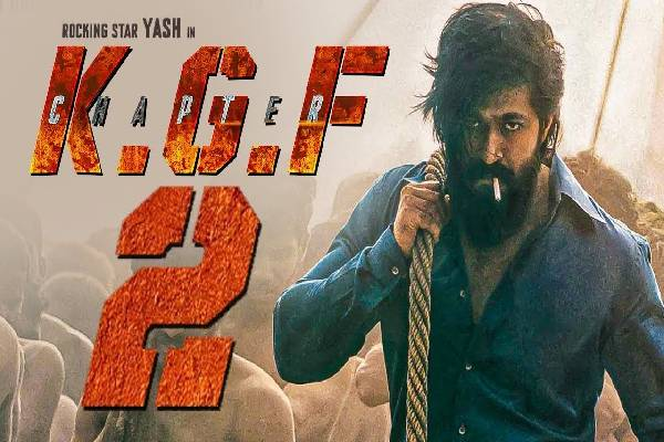 Two possible dates for KGF: Chapter 2
