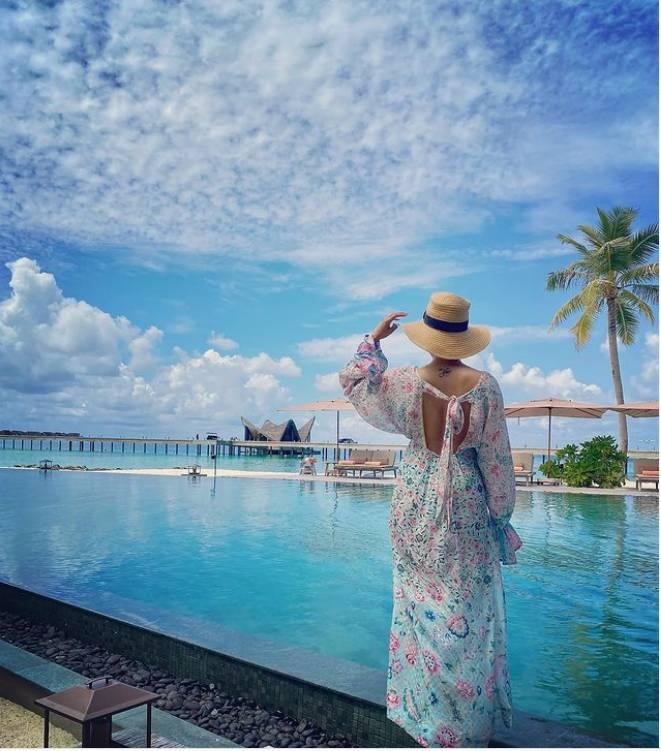 Samantha holidaying in Maldives