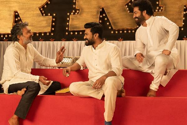 NTR and Ram Charan shooting for Climax portions of RRR