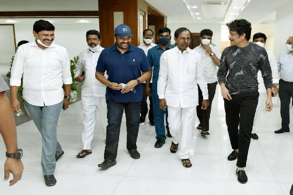 Chiranjeevi's coronavirus shock for KCR, Ram Charan and Nag