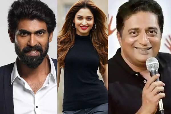 Rana, Prakash Raj, Tamannah get notices