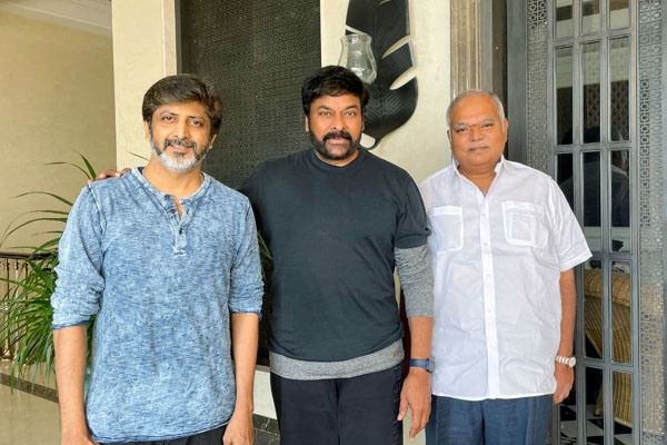 Official: Chiranjeevi's next is Lucifer Remake