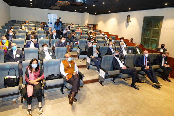 Envoys of 64 countries visit Covid vaccine makers in Hyderabad
