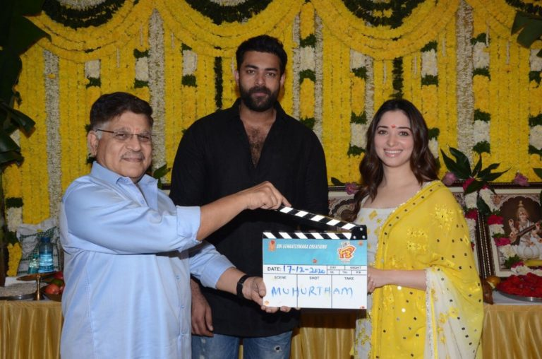Venky and Varun Tej's F3 starts rolling